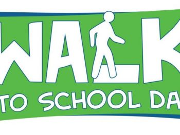 Walk To School Day, Wednesday October 6th
